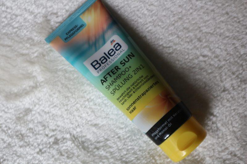 balea aftersun shampoo en spoeling