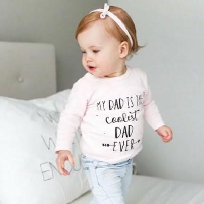 vaderdagshirt baby en kind