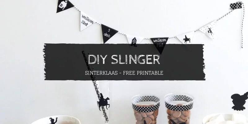 DIY Slinger Sinterklaas