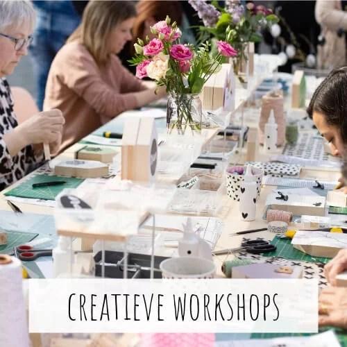 Creatieve workshops, Liefs van Cindy