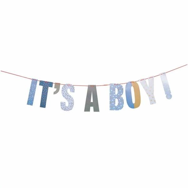 Geboorteslinger jongen