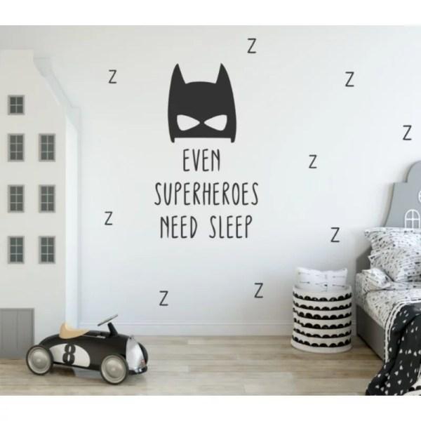 muursticker batman jongenskamer