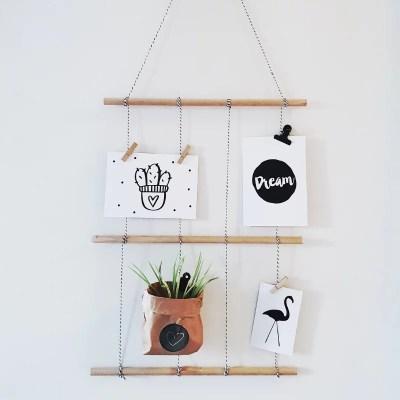 Kaarten hanger creative life workshop