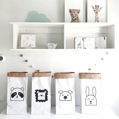 Paperbags kinderkamer