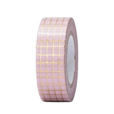 Washi tape roze goud