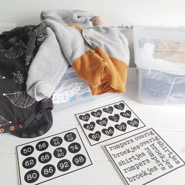 babykleding opruimen