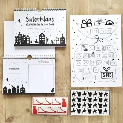 Aftelkalender Sinterklaas en doeboek