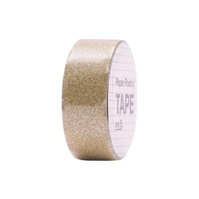 Gouden glitter tape