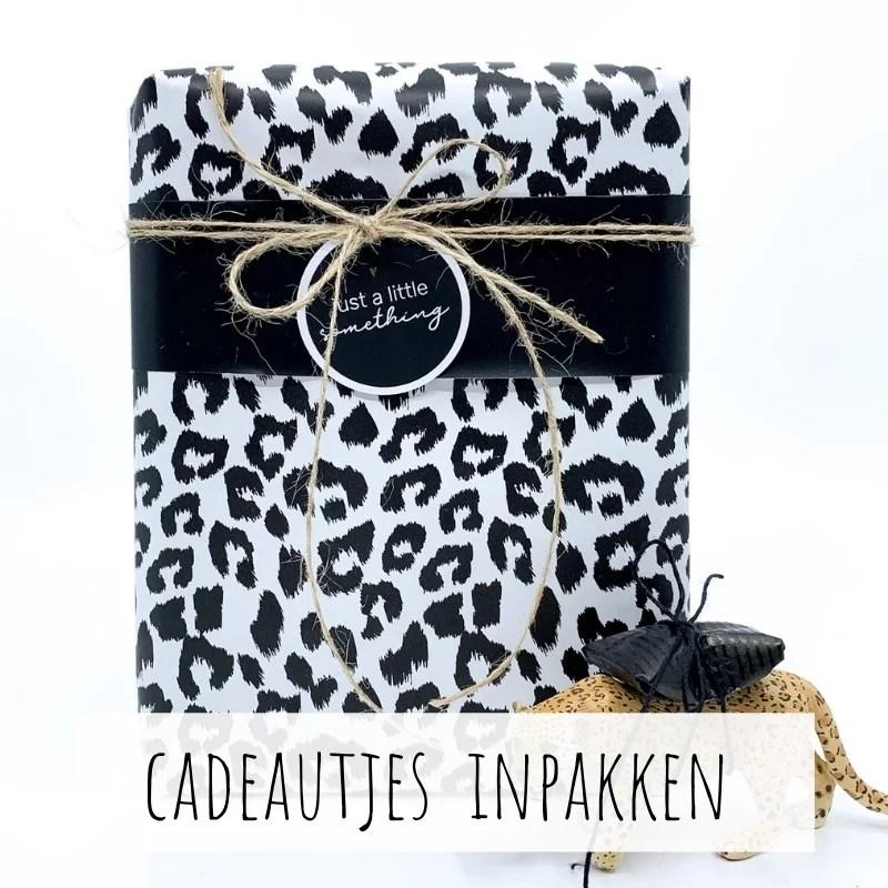 Cadeautjes leuk en mooi inpakken