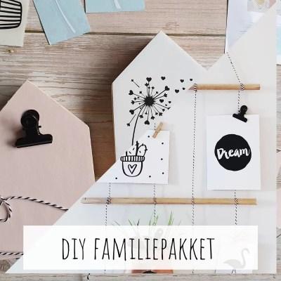 DIY Knutselpakketten familie