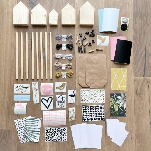 knutselpakket hele familie creatieve workshop thuis