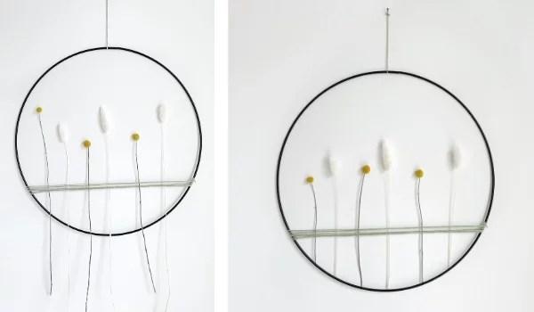 DIY Ring met droogbloemen