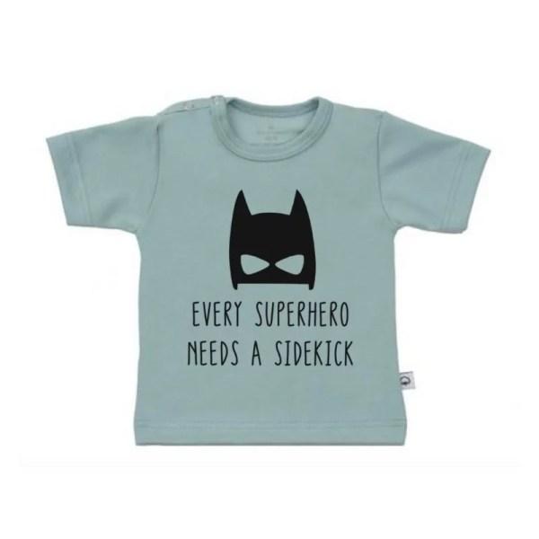 shirt superhero needs a sidekick