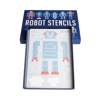 Robot tekenen sjablonen