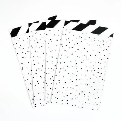cadeauzakjes zwart wit hip