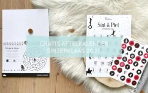 Aftelkalender Sinterklaas gratis downloaden