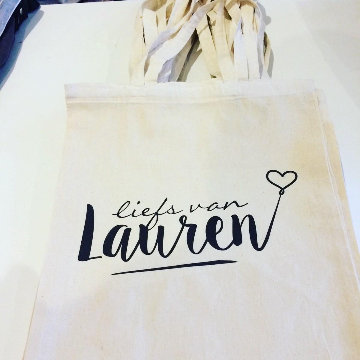 Liefs van Lauren Canvas tas