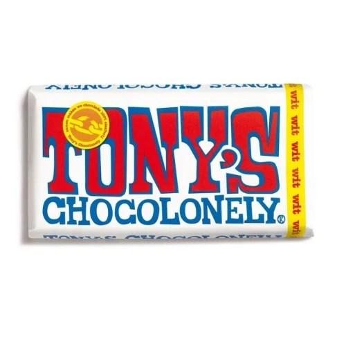 Tony's Chocolonely Witte chocolade Reep