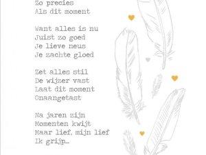 Moment, de tijd gaat door Lentezoet -liefsvanlauren.nl