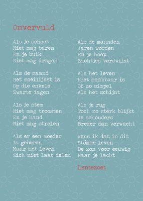 Onvervuld Gedicht Door Lentezoet Kinderwens Liefsvanlaurennl