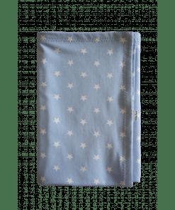Couveusedoek blauw maxi , couveusedeken, kleine lucas, blauw sterren, liefsvanlauren.nl