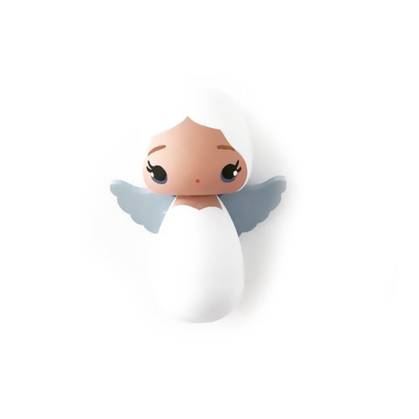 kokeshi doll Bajiri, gelukspoppetje, liefsvanlauren.nl