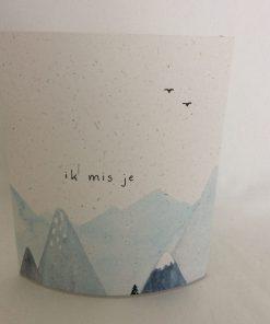 Ik mis je, lichtje voor jou, lichtpuntje, led lichtje, rouw, sfeer, gemis, liefsvanlauren.nl