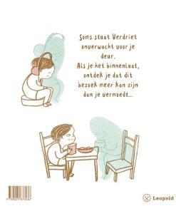 Als verdriet op bezoek komt, eva eland, prentenboek, verdriet, rouw, liefsvanlauren.nl
