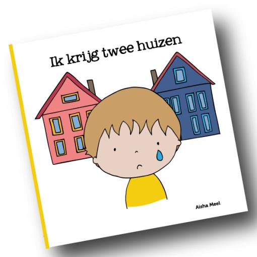 ik krijg twee huizen, scheiden, verdriet, rouw bij kinderen, Aisha meel, De Wonderwolk, liefsvanlauren.nl