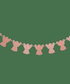 Slinger engel roze, imbarro, engeltjes slinger, liefsvanlauren.nl
