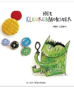 Het kleuren monster, kleurenmonster, emoties, herkenbaar, prentenboek, liefsvanlauren.nl