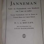 Janneman,schutblad 1912,voorleesboek