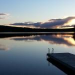 Zweden,Tolvsbo,meer,avond