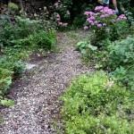 tuin,grintpad,spuiten,juli 2015