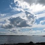 Zweden,Tjörn,Berga,strandje,zee,licht,lucht,2015