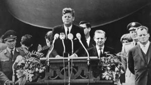 Kennedy,Berlijn,Ich bin ein Berliner,1963