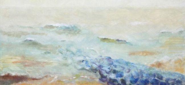 olieverfschilderij,An van Berkel-Zorn,An Zorn,zee,Den Haag