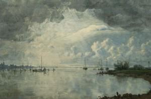 Jan Voerman,expositie,Kampen,IJsselschilder