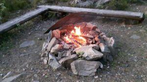 Zweden,Asmansbo,vuur,meer,vis,juni,2016