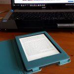 e-reader,Kobo,laptop,lezen,boeken