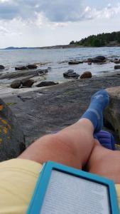 Zwden, strandje, Berga
