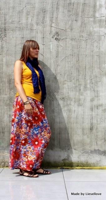 DIY: Maxi Skirt in less than an hour!