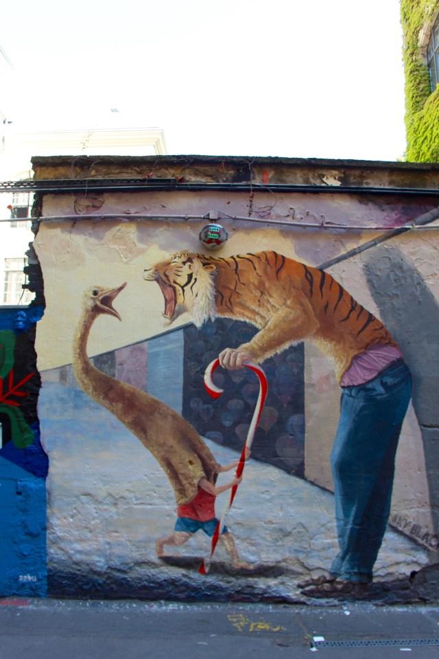Berlijn met kinderen streetart