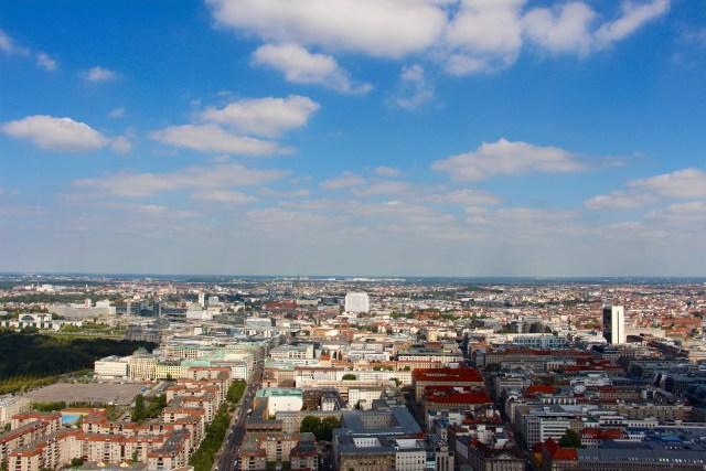 Berlijn met kinderen: weltballon