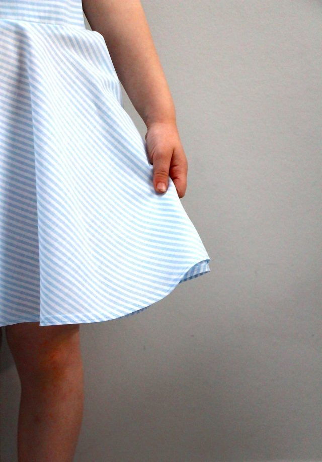 Tinny Dress Hack Straight Grain