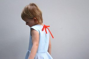 Tinny Dress Hack Straight Grain