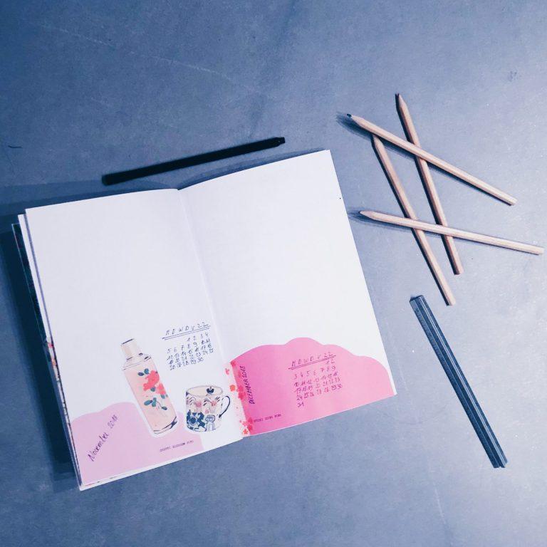 bullet journal DIY 1
