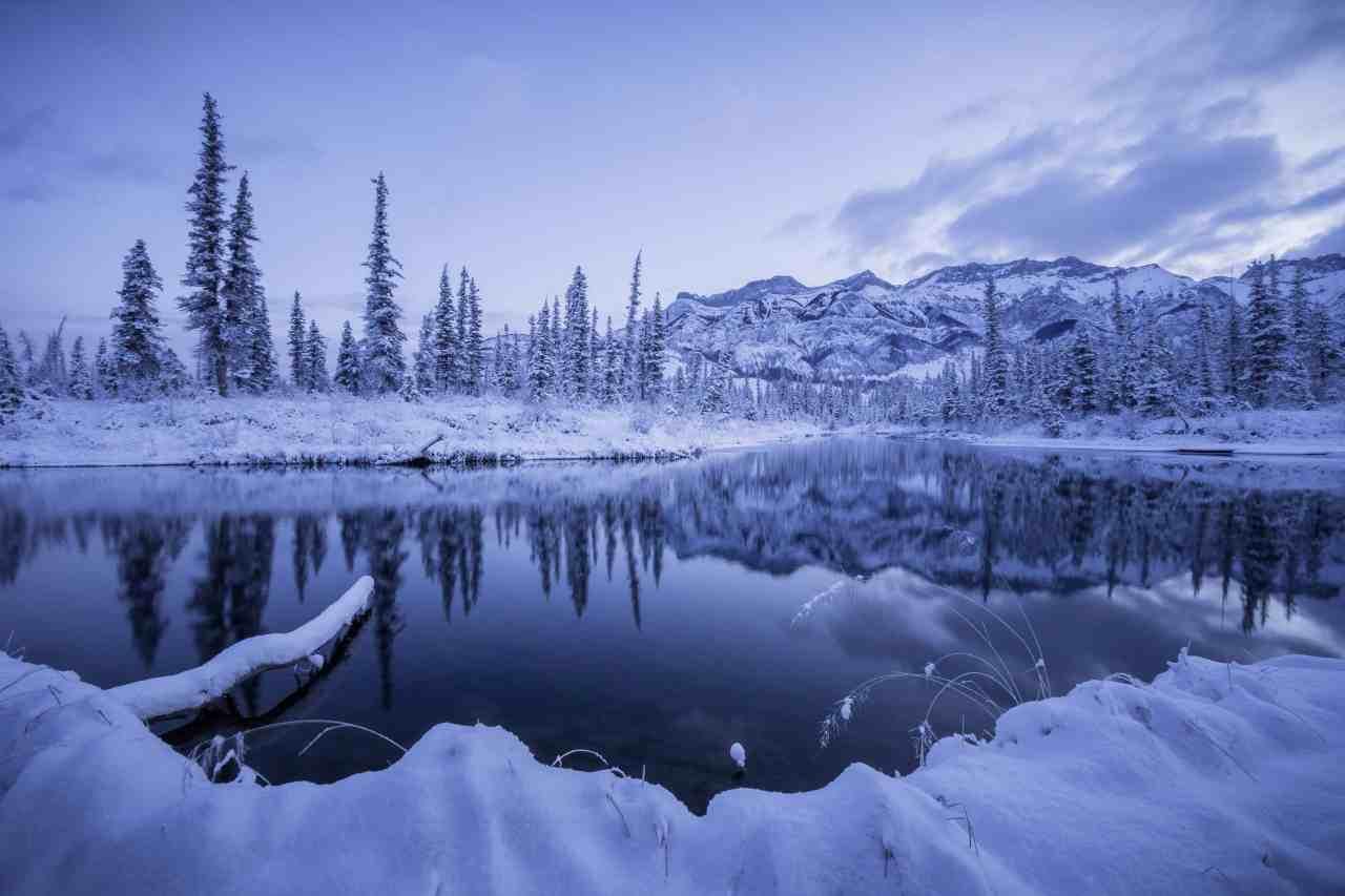 wintersportvakantie canada Jasper Edmonton