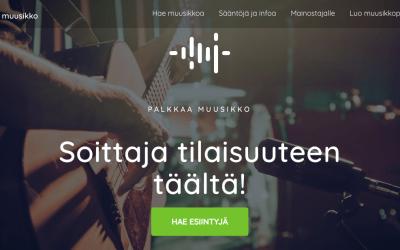 Palkkaamuusikko.fi verkkopalvelu auttaa löytämään esiintyjät juhliin