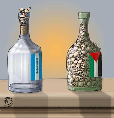 Karikatūros holokausto tema 03